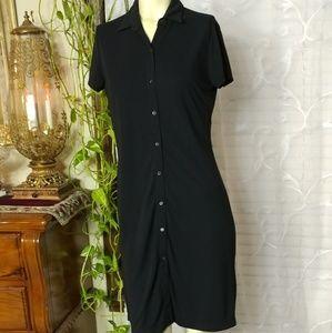 MOSSIMO Polyester Mini Shirt Dress